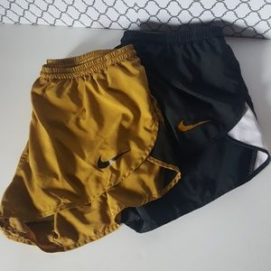 Nike Dri-Fit Running Shorts Size Large